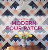 Cath Hall Learn to Quilt: Modern Four Patch Seeing Double Quilt, Alberta St. Store, Tuesdays, March 5, 12, 19, & 26 from 6-9pm