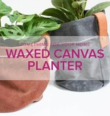 Rebekah Fink Learn to Sew: Waxed Canvas Planter, Alberta St. Store, Thursday, March 7, 6-9pm