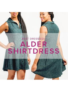 Jeanine Gaitan Alder Shirt Dress, Alberta St. Store, Tuesdays, March 5, 12, & 19, 6-9pm