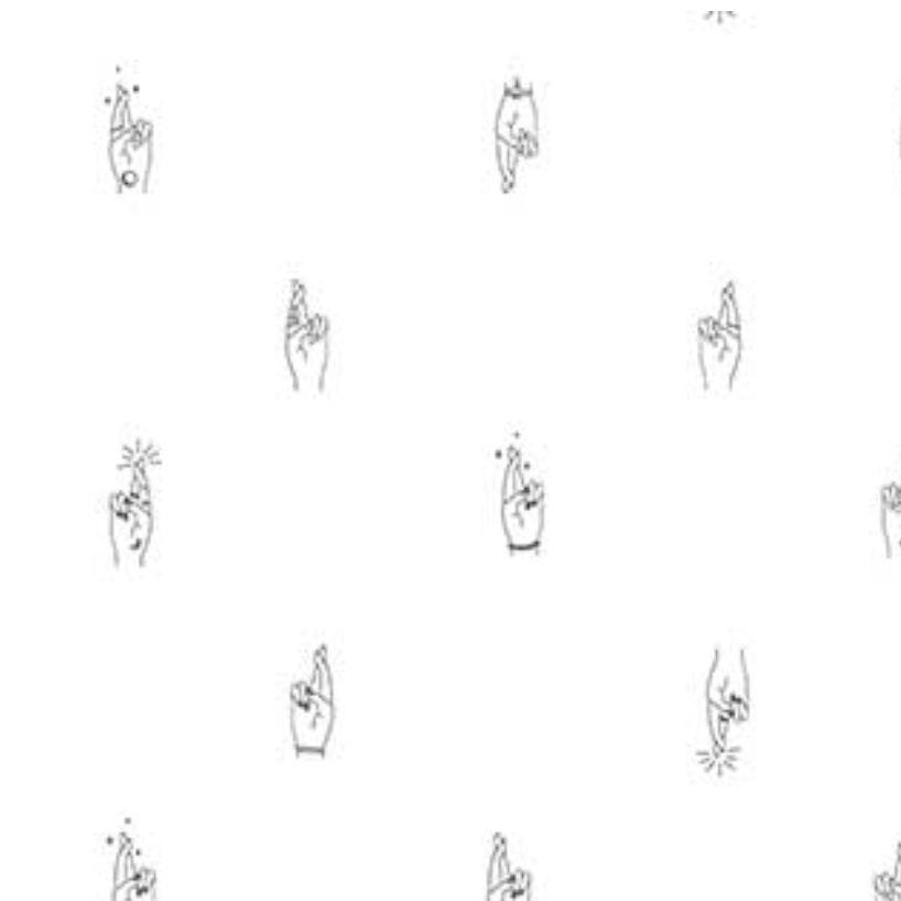 FIGO Lucky Charm by Ghazal Razavi Fingers Crossed White