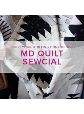 Modern Domestic Quilt Sewcial with Cath Hall, Alberta St. Store, Thursday, February 28, 5-8pm