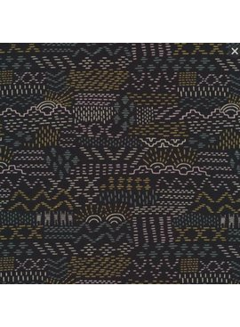 Faraway Places by Elizabeth Olwen Woven Tales Black