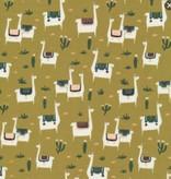 Faraway Places by Elizabeth Olwen Llama LLife Mustard