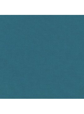 Robert Kaufman Kona Cotton Teal Blue