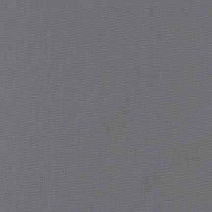 Robert Kaufman Kona Cotton Steel