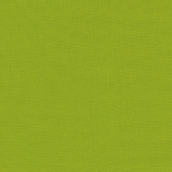 Robert Kaufman Kona Cotton Lime