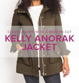 Erica Horton CLASS FULL Kelly Anorak Jacket, Alberta St Store, Thursdays, March 14, 21, 28, April 4 & 11, 6-9 pm