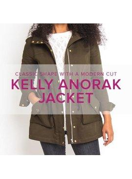 Erica Horton ONLY 1 SPOT LEFT Kelly Anorak Jacket, Alberta St Store, Thursdays, March 14, 21, 28, April 4 & 11, 6-9 pm