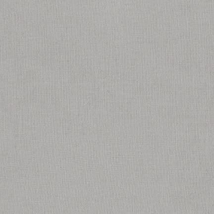 "Robert Kaufman Kona Cotton 108"" Wide Ash"