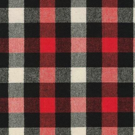 Robert Kaufman Tahoe Flannel Red