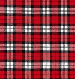 Robert Kaufman Highlander Flannel Red