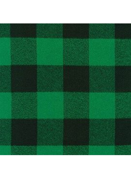 Robert Kaufman Mammoth Flannel Green