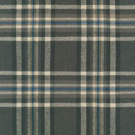 Robert Kaufman Tahoe Flannel Grey