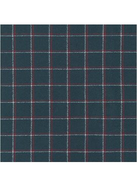 Robert Kaufman Mammoth Flannel Steel