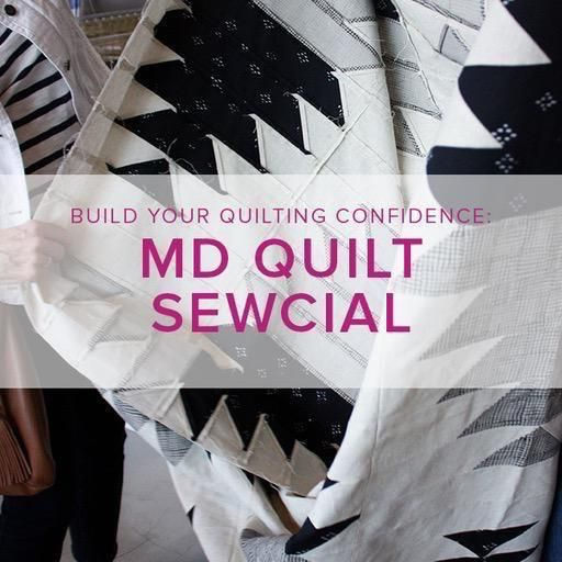 Modern Domestic Quilt Sewcial, Lake Oswego Store,  Tuesday, March 12, 10am - 1pm
