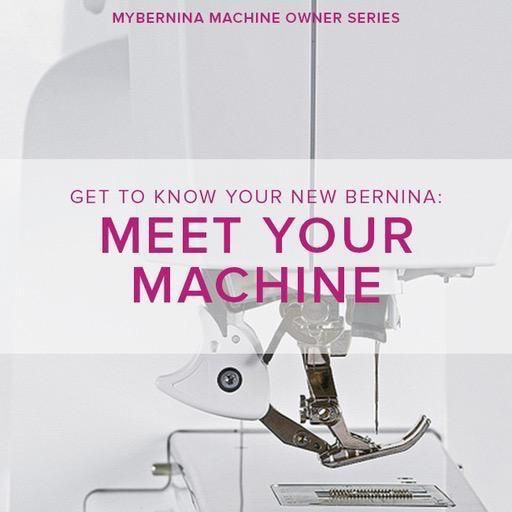 Modern Domestic MyBERNINA: Class #1, Meet Your Machine, Lake Oswego Store, Sunday, February 10, 3-5pm