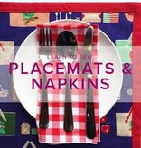 Karin Dejan Learn to Sew: Placemats and Napkins, Alberta St Store, Monday, March 11, 6-9pm