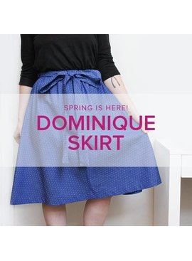 Karin Dejan Learn To Sew: Dominique Skirt Weekend Workshop, Alberta St. Store, Saturday & Sunday, March 16 & 17, 10am-1pm