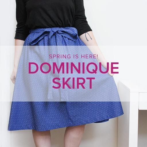 Karin Dejan Learn To Sew: Dominique Skirt Weekend Workshop, Alberta St. Store, Saturday & Sunday, March 16 & 17, 10am - 1pm