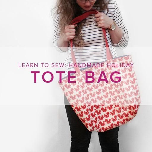 Karin Dejan Learn to Sew: Lined Tote Bag, Alberta St. Store, Tuesday, March 26, 6-9pm