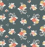 Birch Fabrics Pirouette by Arleen Hillyer Rosette Organic Knit