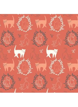 Birch Fabrics Pirouette by Arleen Hillyer Pas De Chat Organic Knit