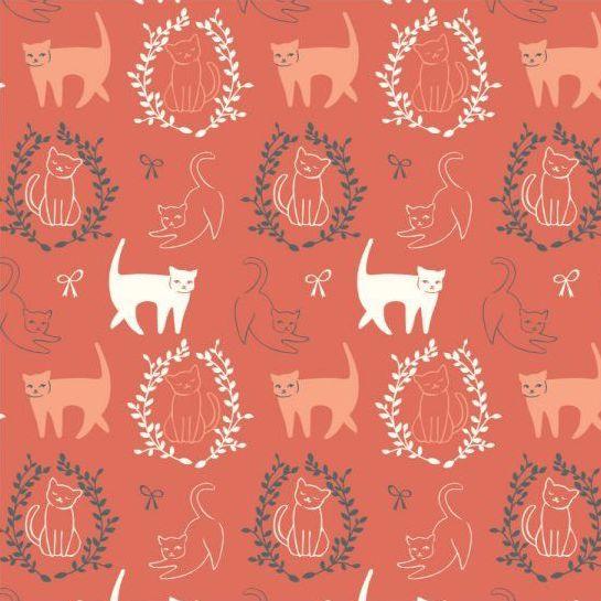 Birch Fabrics Pirouette by Arleen Hillyer Pas De Chat Organic Knit