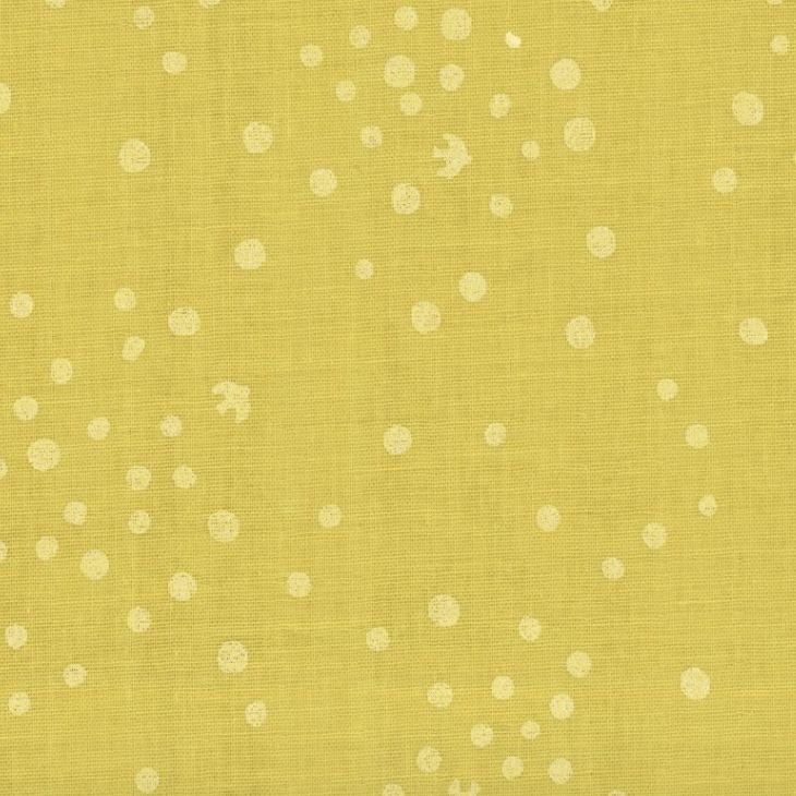 EE Schenck Solid Like Double Gauze Dot Yellow