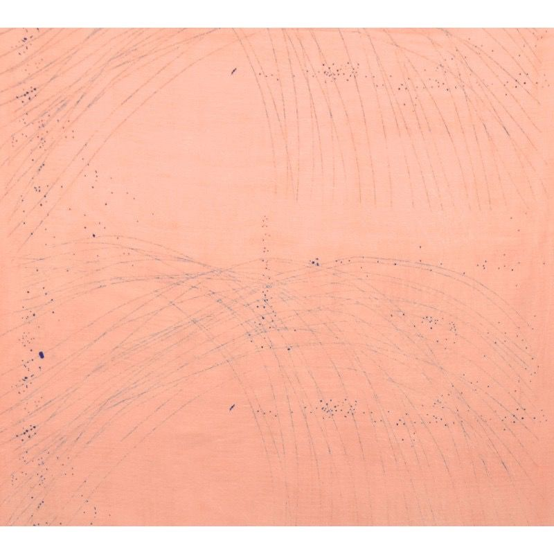 EE Schenck Nani Iro Double Gauze: Formen Pink 100% Cotton