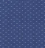Robert Kaufman Cotton Chambray Dots Royal