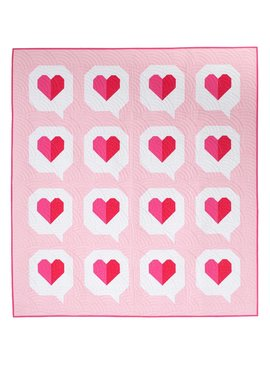 Then Came June Then Came June: I Heart you Quilt