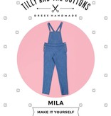 Tilly & the Buttons Tilly & the Buttons Mila Dungarees
