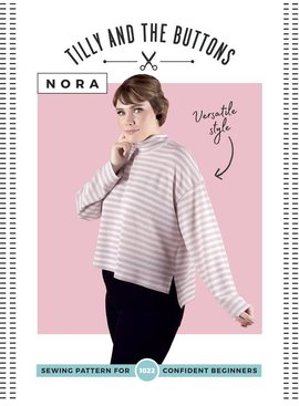 Tilly & the Buttons Tilly & the Buttons Nora Top Pattern