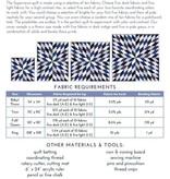 Fancy Tiger Crafts Fancy Tiger Crafts Supernova Quilt Pattern