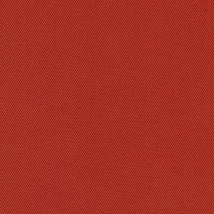 Robert Kaufman Ventana Twill Canyon Red