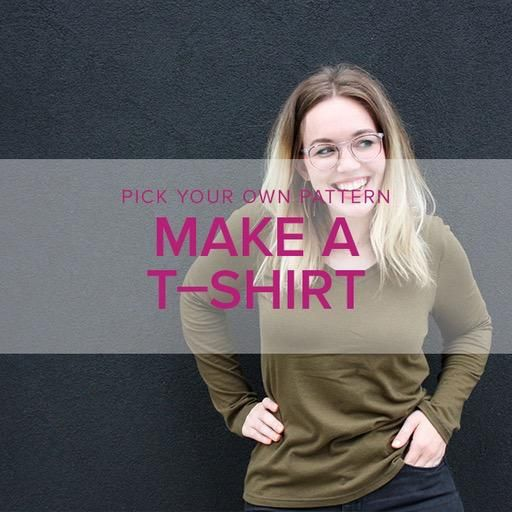 Erica Horton CLASS IN SESSION Pick Your Pattern: T-Shirts, Alberta St Store, Thursdays, April 18 & 25, 6-9pm