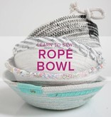 Rebekah Fink Learn to Sew: Rope Bowls, Lake Oswego Store, Sunday, April 7,  2-4pm