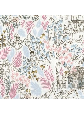 Michael Miller Fabrics Peter Pan by Sarah Jane: The Little HouseBloom