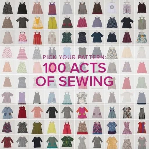 Jeanine Gaitan Learn to Sew Garments: 100 Acts of Sewing, Alberta St. Store,  Tuesdays, April 23 & 30, 6-9 pm