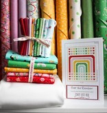 Modern Domestic Over the Rainbow Quilt Kit