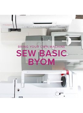 Iris Asher Sew Basic, BYOM (Bring your own machine!) Alberta St. Store, Monday, March 25, 6-8:30pm