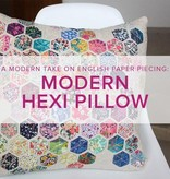 Cath Hall Modern Hexie Pillow, Lake Oswego Store, Saturdays, April 27 & May 1, 1-4pm