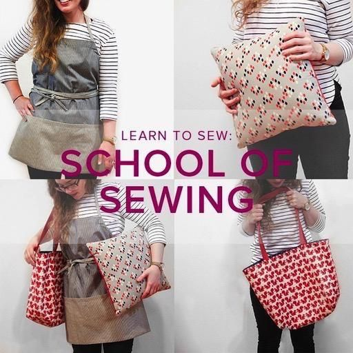Karin Dejan Learn to Sew: School of Sewing, Lake Oswego Store, Thursdays, May 2, 9, 16, & 23, 6-8:30 pm