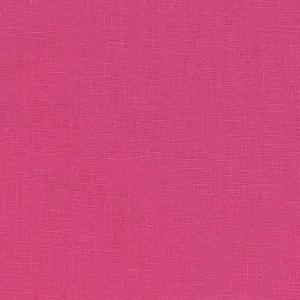 Robert Kaufman Essex Solid Hot Pink