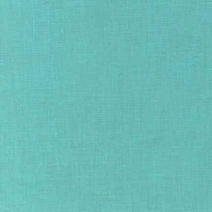 Robert Kaufman Essex Solid Medium Aqua