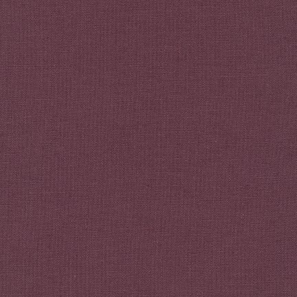 Robert Kaufman Essex Solid Plum