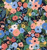 Cotton + Steel Wildwood by Rifle Paper Co. Garden Party Navy