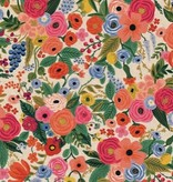 Cotton + Steel Wildwood by Rifle Paper Co. Garden Party Pink Canvas