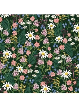 Cotton + Steel Wildwood by Rifle Paper Co. Wildflowers Hunter