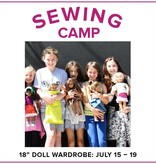"Cath Hall CLASS FULL Kids Sewing Camp: Sew a Wardrobe for my 18"" Doll! Alberta St Store, Monday - Friday, July 15-19, 10am-1pm"